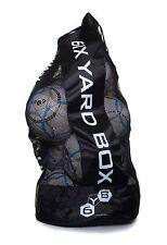 Heavy Duty Football Rugby 12 Ball Carry Sack Holdall Bag Brand New Free P&P U.K