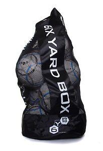 Heavy Duty Football/Rugby 12 Ball Carry Sack Holdall Bag Brand New Free P&P U.K
