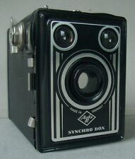 AGFA  Synchro Box 6x9 cm Boxkamera + Tasche