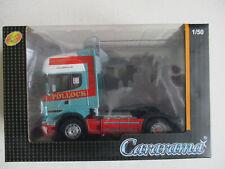 Camion Scania R620 Topliner Pollock remorque 1/50