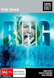 The Ring (Cinema Cult) DVD NEW (Region 4 Australia)