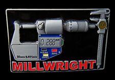 Belt Buckle Millwright Carpenter Tradesmen Machinery Boucle de Ceinture