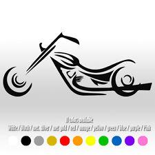 "6"" Motorcycle - Harley Davidson Racing Yamaha Bike Diecut Vinyl Decal sticker"