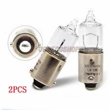 2PCS 38833 Vosla H10W BA9s bulb 12V 10W light lamp Parking Reverse light Germany