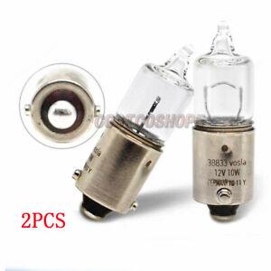 2PCS 38833 Vosla H10W Halogen Lamp BA9s bulb 12V 10W lamp light Germany
