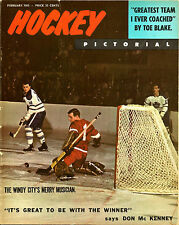 1965 (Feb.) Hockey Pictorial Magazine - No Mailing Label
