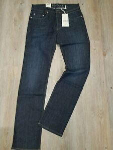 "MAC Jeans  ARNE Sommerdenim dark blue scratched used   ""NEU""  Gr. W31 / L34"