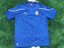 Puma ITALY Home Calcio Soccer Jersey Football ITALIA AZZURRI World Cup 2010 XL