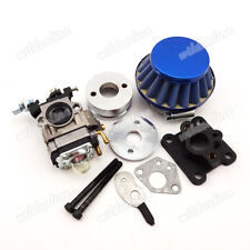 Racing Carburetor Air Filter Stack Kit For Mini Moto 47cc 49cc ATV Pocket Bike