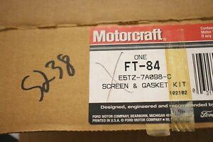 New OEM Ford Bronco 1989-1993 5.8 Transmission Filter Kit FT-84 E5TZ-7A098-C