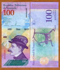 Venezuela, 100 Bolivares Soberanos, 22-3-2018, P-New, G-Prefix, UNC > Monkey