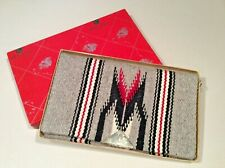 Vintage Handwoven CHIMAYO Clutch Purse/Belt Bag By Ganscraft in Original Box