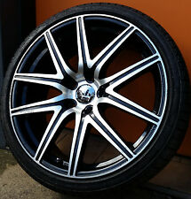 """ENIX CONCAVE 19"""" WHEELS AND TYRES HOLDESN VS VT VX VE VF BMW 3 SERIES"""