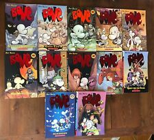 Near Complete Series BONE Graphic Novels Jeff Smith 1-6 8 9 Quest Spark 1 2 Rose