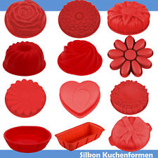 Backformen Silikon Kuchenform Kastenform Blume Backen Herz Backform Design rund