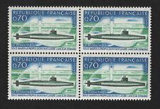 OPC 1969 France Block of 4 Sc#1259 MNH 33900