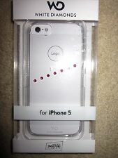 White Diamonds - Sash Ice Pink with Swarovski Elements Crystal iPhone 5
