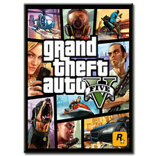 Grand Theft Auto V -GTA 5 (PC Games) - BRAND NEW - FREE SHIPPING stand editition