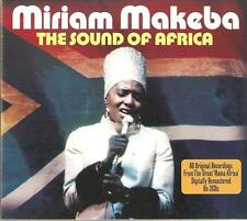 MIRIAM MAKEBA THE SOUND OF AFRICA - 3 CD BOX SET - THE CLICK SONG & MORE