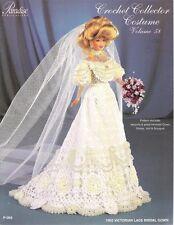 Paradise Crochet Leaflet P-069 Vol 58 makes 1903 Victorian Lace Bridal Gown