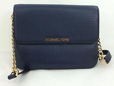 New Michael Kors MK Bedford Leather Crossbody Messenger Handbag Bag Purse
