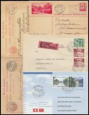 SWITZERLAND 1890's/1998 SELECTION CARDS & POSTAL STATIONERY (x11) (ID:405/D57436