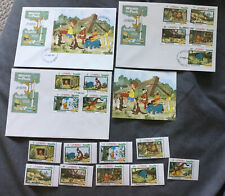 Anguilla - 1982 - Disney - Christmas - Winnie The Pooh - Tigger +Stamp Lot Mnh