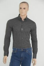 HUGO BOSS TAILORED HEMD, Gr. 40, UVP: 229,00 €, Slim Fit,  Made in Italy