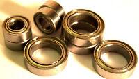 1/10 4 x Wheel Sealed Ball Bearings 15x10x4 10x5x4 10x5x4mm