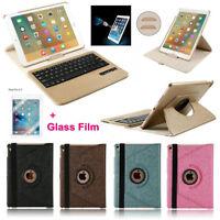 Boriyuan Wireless Keyboard 360° Swivel Folio Case Cover For iPad Pro 9.7 2016