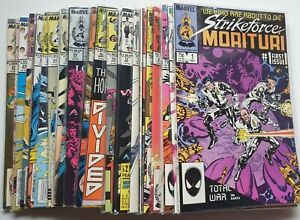 Strikeforce: Morituri #1 to #31 Complete Series (1986 Series)