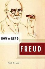 How to Read Freud by Josh Cohen, Simon Critchley