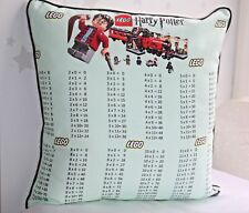 Harry Potter Lego Times Tables Pillows, Multiplications Tables, learning kids
