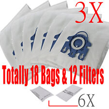18 x BAGS For MIELE GN COMPLETE C2 C3 S2 S5 S8 S5210 S5211 S8310 VACUUM CLEANER