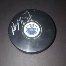 Wayne Gretzky Edmonton Oilers autographed puck