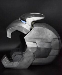New CATTOYS 1/1 FULL Metal props Iron Man MK42 XLII LED Helmet Replica