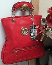 Adorable, Large Tomato Red  Purse Offered By The Perfumed River
