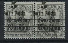 Polen 1919 Fischer Nr 8 Fehldruck B3 (L unten)