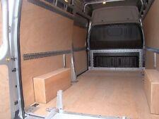 2 x 3m Q PLATE LOAD LOCK RAIL - HEAVY DUTY ZINC PLATED  - VAN STRAPPING / LINING