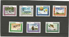 Elizabeth II (1952-Now) Aviation Decimal European Stamps
