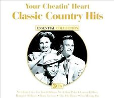 Classic Country Hits: Your Cheatin' Heart by Various Artists 3 CD set/75 Songs