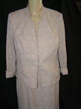 Dorby Petite 2 Piece Suit - Womens 6P  Cream Dress  Special, Mother of Bride