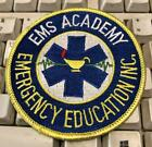 EMS Academy Patch Emergency Medical Services FREE SHIPPING