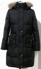 NWT Women'/Lady's Winter Long Down Coat(GM5062),Black,M