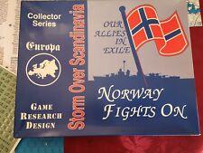 Jeu de plateau stratégie  wargames Europa - Storm over Scandinavia GRD