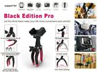 Mobile-Catch Black Edition Pro Klemme Schwarz Gummi Griffe Kamera Klemme