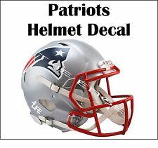 "New England Patriots 4Life  5""x6"" Auto Window Vinyl Glossy Helmet Decal Sticker"