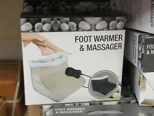Spas, Baths & Supplies 2 In 1 Electric Foot Feet Massager Warmer Heated Comfort Fleece Suede Gift Ture 100% Guarantee Health & Beauty