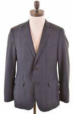 HUGO BOSS Mens 2 Button Blazer Jacket EU 48 Medium Navy Blue Check Eagle 2 MX62