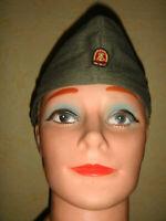 DDR NVA Schiffchen Mütze - Cold War East German Army Side Cap GDR Pilotka